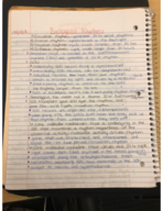 UCONN - PNB 3251 - Class Notes - Week 13