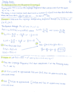 MAD 3401 - Study Guide
