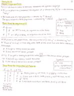 MAD 2104 - Study Guide