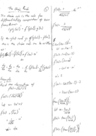 FIU - Calculus 2311 - Class Notes - Week 6