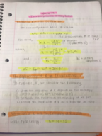 CHE 3062 - Class Notes - Week 14