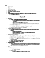 MGMT 371 - Class Notes - Week 7