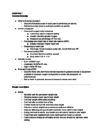 HSC 4139 - Study Guide