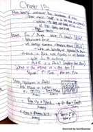 PHY 101 - Class Notes - Week 17