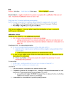 PHIL 3103 - Class Notes - Week 14