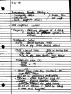 OleMiss - PSY 322 - Class Notes - Week 4