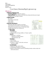 AG 2373 - Study Guide