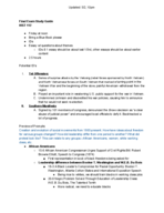 HIST 112 - Study Guide