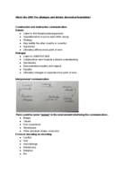 UMB - ECON econ 200 - Class Notes - Week 1