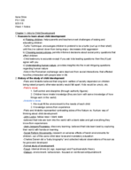 psy 335 - Class Notes - Week 1
