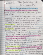 UH - ECON 2304 - Class Notes - Week 1