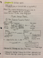 ECON 221 - Class Notes - Week 1
