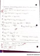 UF - Calculus 2311 - Class Notes - Week 2