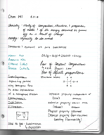 CHM 141 - Class Notes - Week 2