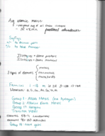 CHM 141 - Class Notes - Week 3