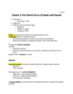 ECON 0110 - Class Notes - Week 1