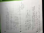 University of Memphis - MATH 1830 - Class Notes - Week 4