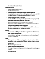PSY 1013 - Class Notes - Week 5