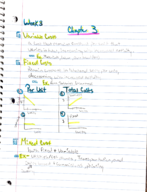Accounting 1220 - Class Notes - Week 3