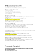 ECON 2002 - Class Notes - Week 17