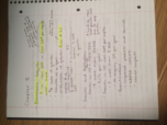 ECON 1113 - Class Notes - Week 6