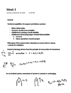 ND - PHYS 20065 - Class Notes - Week 3