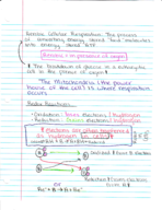 BIO - Class Notes - Week 7