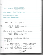 CHM 141 - Class Notes - Week 4