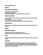 PHYS 1350 - Study Guide
