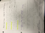 UCLA - Chemistry and Biochemistry 14a - Class Notes - Week 1