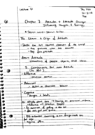 PSY 350 - Class Notes - Week 6