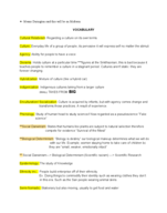 Towson - ANTH 207 - Study Guide - Midterm