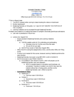 CHBC 1103 - Study Guide