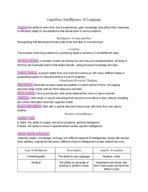 Texas State - PSY 1300 - Class Notes - Week 5