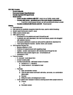 PSY 365 - Study Guide