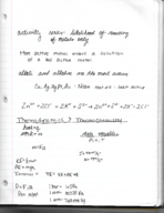CHM 141 - Class Notes - Week 5