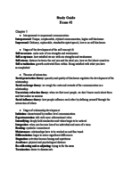 COMM 1000 - Study Guide