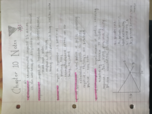 ECON 2010 - Class Notes - Week 7