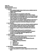 HIST 200 - Study Guide