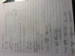 CPP - Physics 1510 - Class Notes - Week 7