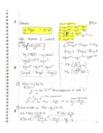 Pace - Calculus I 101 - Class Notes - Week 4