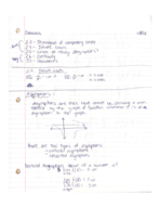 Pace - Calculus I 101 - Class Notes - Week 6