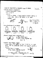 UW - PHYSICS 207 - Class Notes - Week 4
