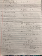 Penn State - MATH 141 - Study Guide - Midterm