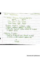 UIUC - CHEM 102 - Class Notes - Week 6