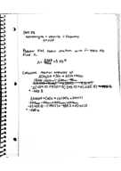CHM 141 - Class Notes - Week 6