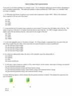 PHYS 221 - Study Guide