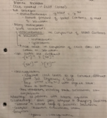 UB - BIO 303 - Class Notes - Week 9