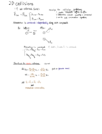 UW - PHYSICS 201 - Class Notes - Week 8