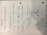 UH - CHEM 1331 - Class Notes - Week 9